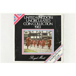 1983 UNITED KINGDOM UNC COIN COLLECTION