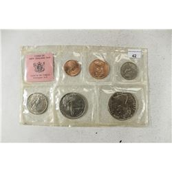 1968 NEW ZEALAND UNC SPECIAL ISSUE COIN SET