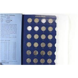 PARTIAL 1938-65 JEFFERSON NICKEL SET, 68 COINS