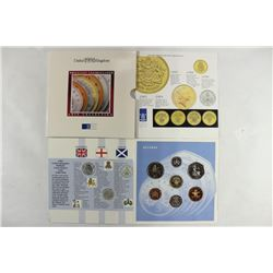 1991 UNITED KINGDOM BRILLIANT UNC COIN COLLECTION