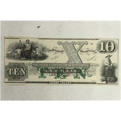 1800'S NEW ENGLAND COMMERCIAL BANK OF NEW PORT