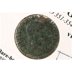 351-354 A.D. CONSTANTIUS GALLUS ANCIENT COIN VF