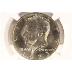 1973 KENNEDY HALF DOLLAR NGC MS66