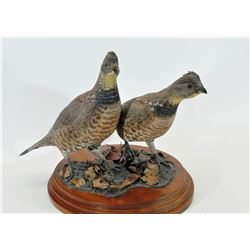 Wood Carving Grouse