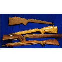 4 Wooden Gunstocks