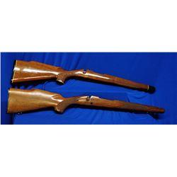 2 Wooden Gunstocks
