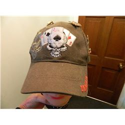 BASEBALL CAP (I'M ALL IN) -  WITH ASSORTED PINS ETC.