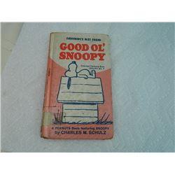 BOOK - GOOD OL'SNOOOPY - 1958