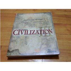 BOOK - SID MEIER'S CIVILIZATION III - INSTRUCTION MANUAL