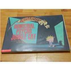 BOOK - THE CALVIN AND HOBBES - HOMICIDAL PSYCHO JUNGLE CAT