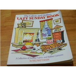 BOOK - THE CALVIN AND HOBBES - LAZY SUNDAY BOOK
