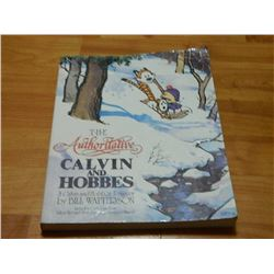 BOOK - THE CALVIN AND HOBBES - THE AUTHORITATIVE