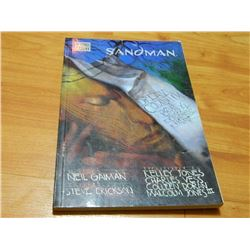 BOOK - THE SANDMAN - DREAM COUNTRY - SIGNED INSIDE