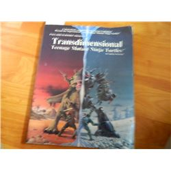 BOOK - TRANSDIMENSIONAL TMNT - 1989