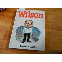 BOOK - WILSON BY DANIEL CLOWES