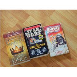 BOOKS - 3 TTL - GAME OF THRONES, STAR WARS & EMPIRE STRIKES BACK