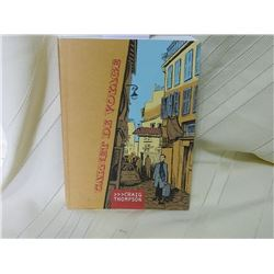 CARNET DE VOYAGE - CRAIG THOMPSON Spontaneous sketches and a travelogue diary document his adventure