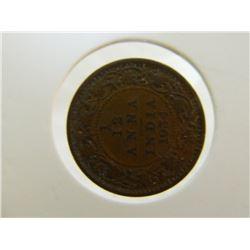 COIN - 1/12 ANNA INDIA - 1934