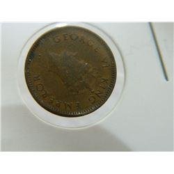 COIN - 1/12 ANNA INDIA - 1939