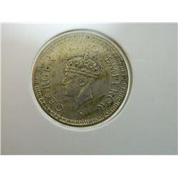 COIN - 1/4 RUPEE - INDIA - 1945(.)B - SMALL 5