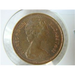COIN - 2 NEW PENCE - 1981