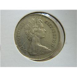 COIN - 5 NEW PENCE - 1980
