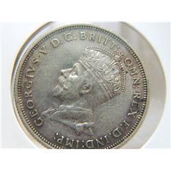 COIN - AUSTRALIA - ONE FLORIN - 1927