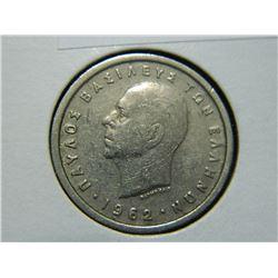 COIN - BAEIAEION THE 2 PAXMA - 1962