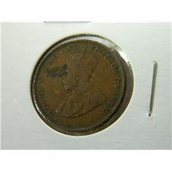 COIN - CEYLON - ONE CENT - 1929