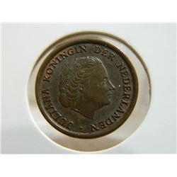 COIN - NEDERLANDEN - 1 CENT - 1956