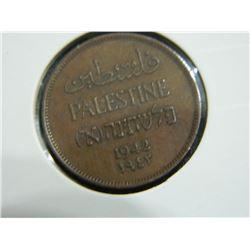 COIN - PALESTINE - 1 MIL - 1942