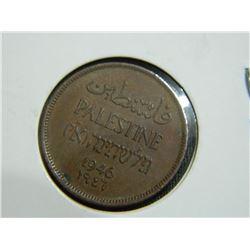 COIN - PALESTINE - 1 MIL - 1946