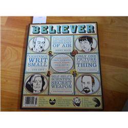 COMIC BOOK - BELIEVER = VOL 4 No. 3 - APRIL 2006