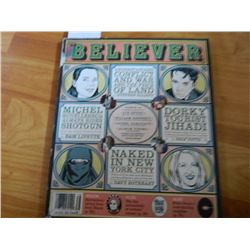 COMIC BOOK - BELIEVER = VOL 4 No. 8 - OCT 2006