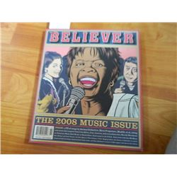 COMIC BOOK - BELIEVER = VOL 6 No. 5 - JULY/AUG 2008