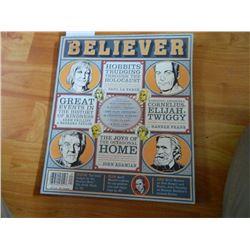 COMIC BOOK - BELIEVER = VOL 7 No. 4 - MAY 2009
