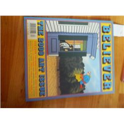 COMIC BOOK - BELIEVER = VOL 7 No. 9 - NOV/DEC 2009