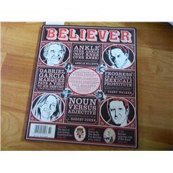 COMIC BOOK - BELIEVER = VOL 8 No. 2 - APRIL 2009