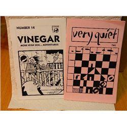 COMIC BOOKS - 2 TTL - VERY QUIET & VINEGAR
