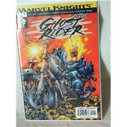 GHOST RIDER - MARVEL KNIGHTS GRAYSON KANIUGA BLAZE - VOL. 3 #1 2001 - NEAR MINT - WITH BAG AND BOARD