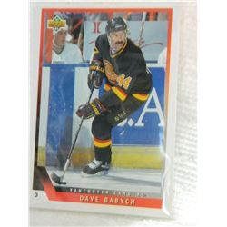 HOCKEY CARD - DAVE BABYCH - #376