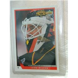 HOCKEY CARD - KIRK McLEAN - #156