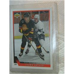 HOCKEY CARD - SHAWN ANTOSKI - #325