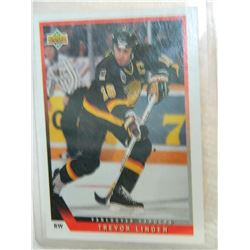 HOCKEY CARD - TREVOR LINDEN - #383