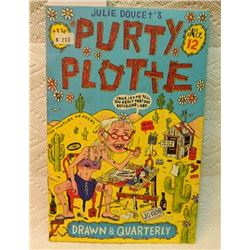 JULIE DUCET'S PURTY PLOTTE - #12 - PRICE STICKER ON FRONT