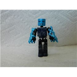 LEGO MINI FIGURE - BLUE & BLACK & ACCESSORIES