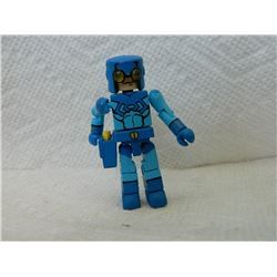 LEGO MINI FIGURE - BLUE WITH GUN & HOLSTER
