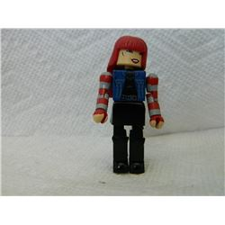 LEGO MINI FIGURE - RED, BLACK & BLUE