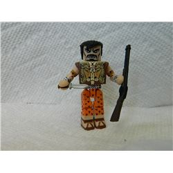 LEGO MINI FIGURE - WITH RIFFLE & KNIFE
