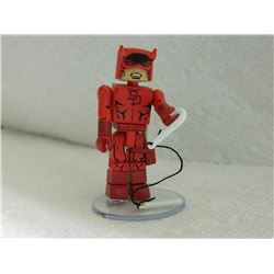 MINI FIGURE - RED - WITH STAND, WEAPON & EXTRA HAIR